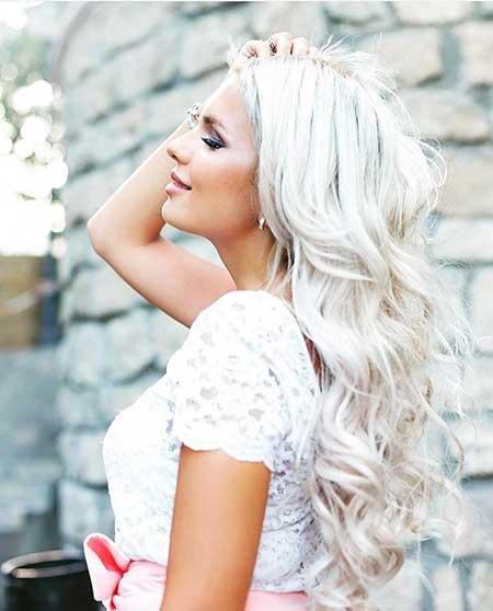 20 Best Platinum Blonde Hair Color – Blonde Hairstyles 2017