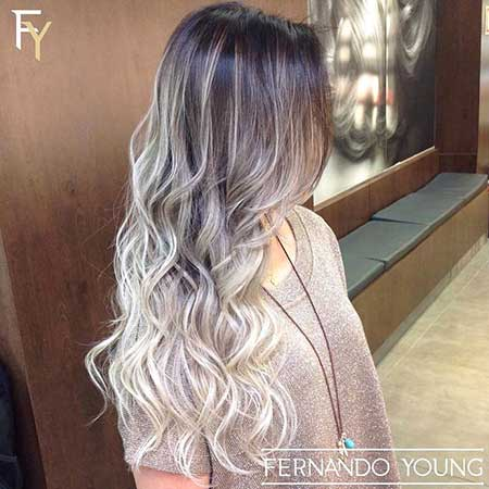 Ideas, Ombre, Platinado, Balayage, Color, Blonde, Ash, Hairstyles