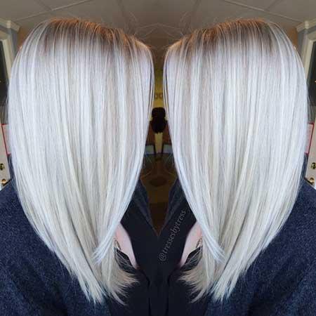 Hair, colors, Clours, Balayage, Platinum