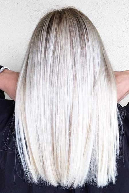 20 Best Platinum Blonde Hair Color Blonde Hairstyles 2017