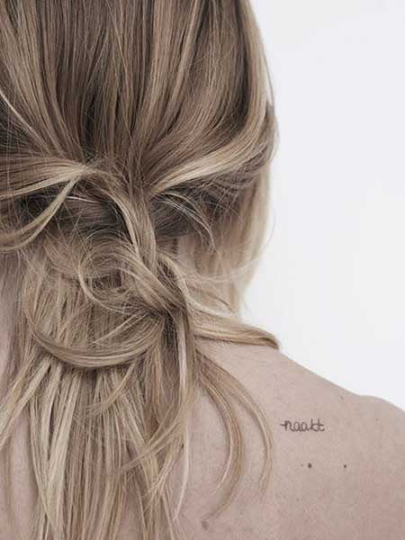 Blonde, Highlights, Brown, Hairstyles, Braids, Knot, Hair, Style