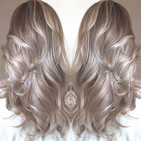 Looks, Colours, Balayage, Color, Blonde, Ash, Ighlights