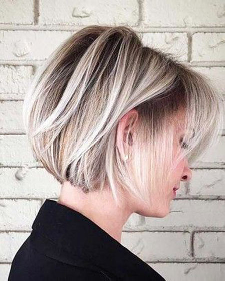 Blonde Hairstyles, Blonde Bob Hairstyles, Layered, White