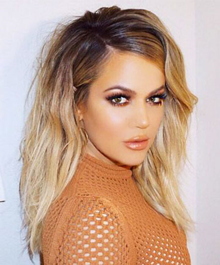 Khloe, Kardashian, Some, Short, Rock, Long, Locks, Jenner, Chick