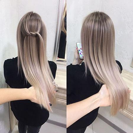 Long Blonde Balayage Hair Blonde Hairstyles 2017