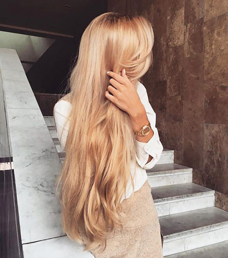 Blonde, Long, Ombre, Women, Balayage
