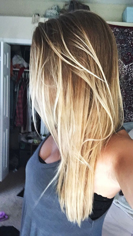 20 Long Blonde Ombre Hairstyles – Blonde Hairstyles 2017
