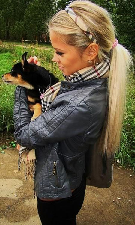 78 Long Blonde Ponytail Hairstyles