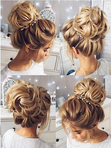 57 Long Blonde Wedding Hair Styles