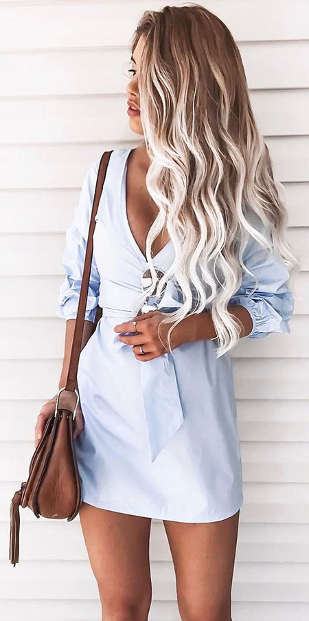 Blonde, Summer, Balayage, Skin, Shoulder, Ombre, Cute, Brown