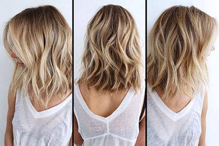 Blonde Hairstyles, Short Hairstyles, Balayage