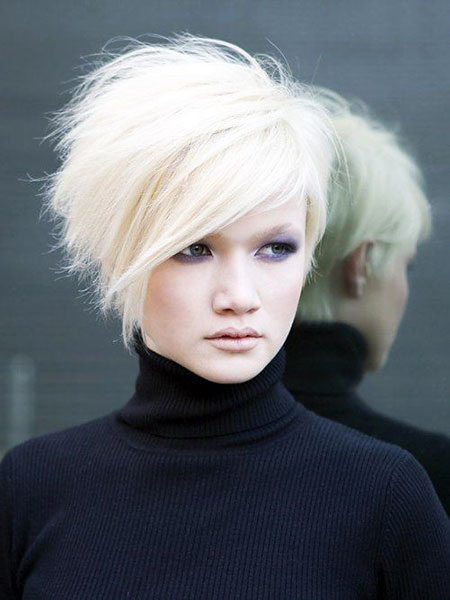 Short Hairstyles, Stacked, One, Little, Day