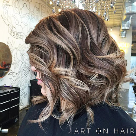 Balayage, Brown, Blonde Hairstyles, Women, View