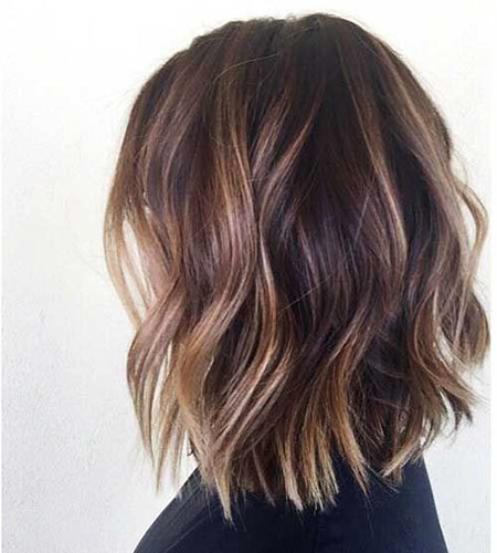 Balayage, Brown, Blonde Bob Hairstyles, Short Hairstyles