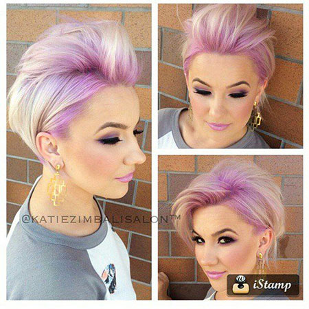Short Hairstyles, Pixie Cut, Pink, Kapsels, South, Light