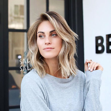 Lob, Blonde Hairstyles, Ombre, Long, Delevingne, Cara