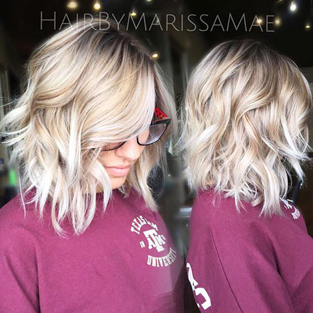 Blonde Hairstyles, Balayage, Short Hairstyles, Yellow