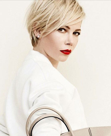 Short Hairstyles, Pixie Cut, Long, Williams, Wavy, Michelle