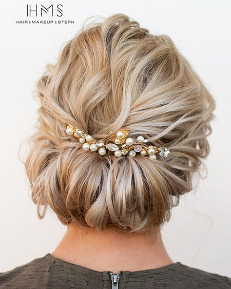 Wedding, Warm, Updo, Short Hairstyles, Peinados, Fall, Braided