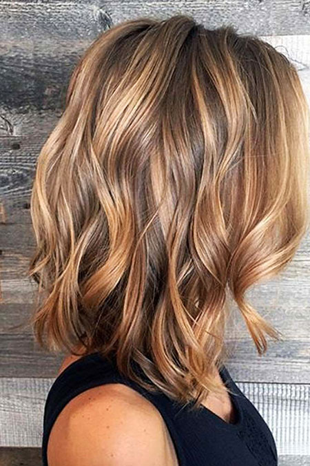 Balayage, Highlights, Caramel, Summer, Pretty, Blonde Hairstyles, 20