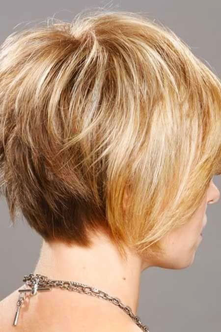 Short Hairstyles, Layered, Blonde Hairstyles