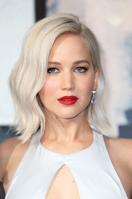 Jennifer, Lawrence, Blonde, Waves, Pretty, Platinum