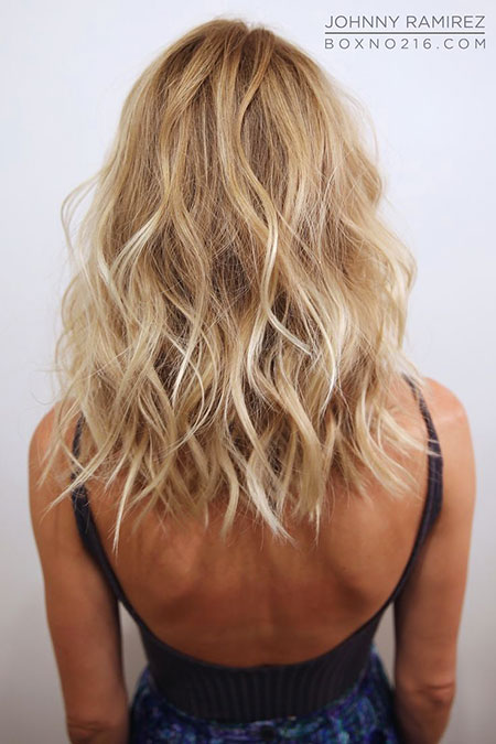 Blonde, Ramirez, Medium, Length, Anhcotran, Tran, Lob