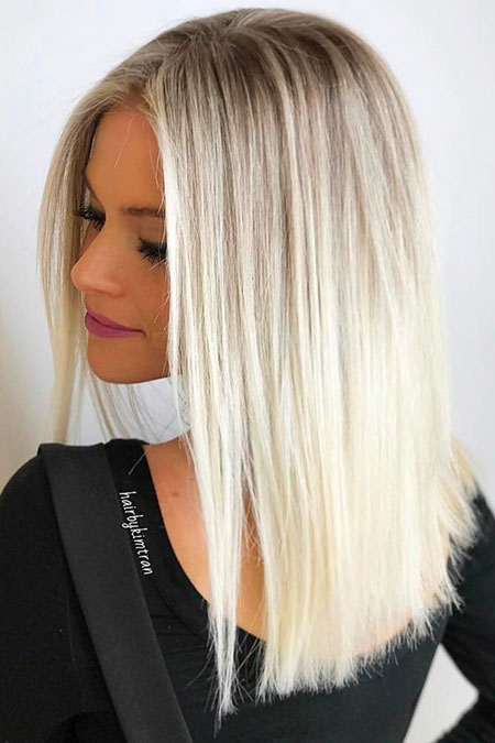 Blonde, Ombre, Balayage, Season, Platinum, Medium, Colors