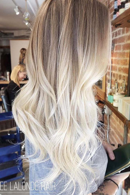 Blonde, Ombre, Balayage, without, Fun, Cute, Ash