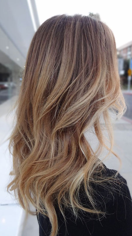 Blonde, Ombre, Sandy, Balayage, Highlights, Dark, Colour
