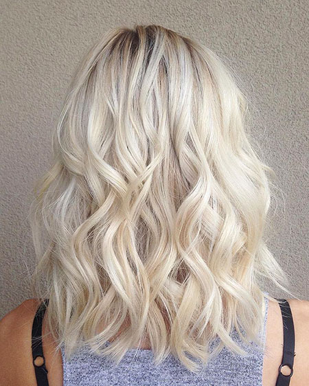 Blonde, Platinum, Year, Waves, Trend, Tips, Straight, Light