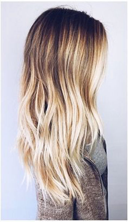 Blonde Balayage Ombre Natural Longer Long Colors Big