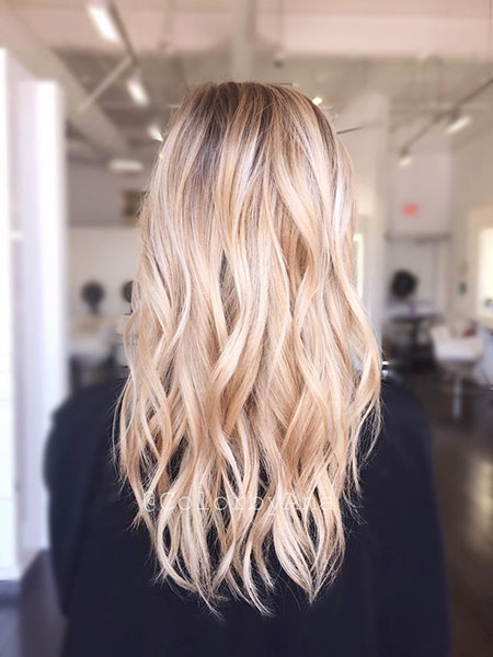 Blonde, Balayage, Ombre, İg, Highlights, Bright, Platinum