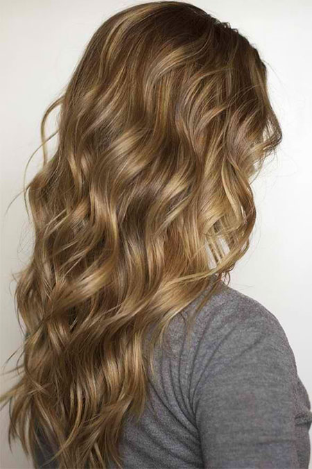 Curls Flat Soft Natural Line Highlights French Dirty
