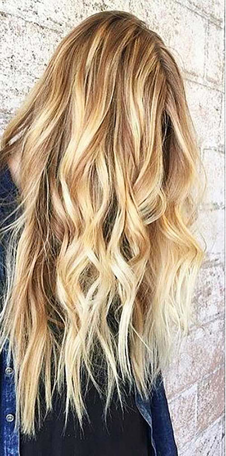 Caramel Hair Color With Honey Blonde Highlights Best Hairstyles 2018