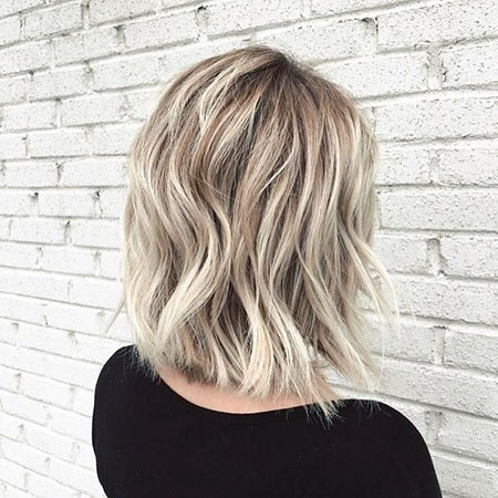 Blonde Hairstyles, Short Hairstyles, Highlights, Balayage