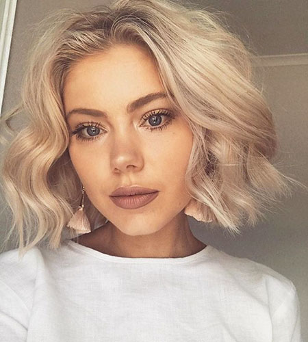 Trendy, Short Hairstyles, Sexy, Over, Modern, Long, Fine, Blonde Hairstyles