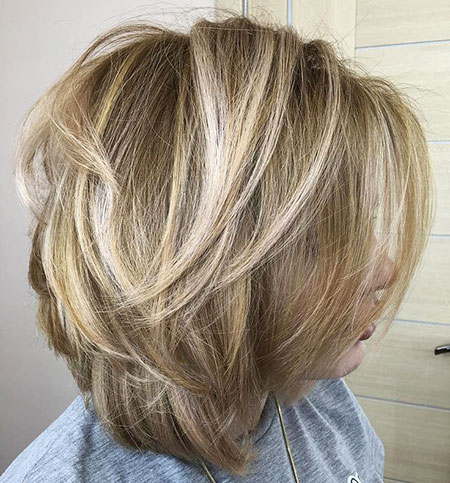 Blonde Hairstyles, Layered, Blonde Bob Hairstyles, Balayage