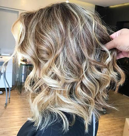 Blonde Hairstyles, Highlights, Balayage, Long, Golden, Dirty