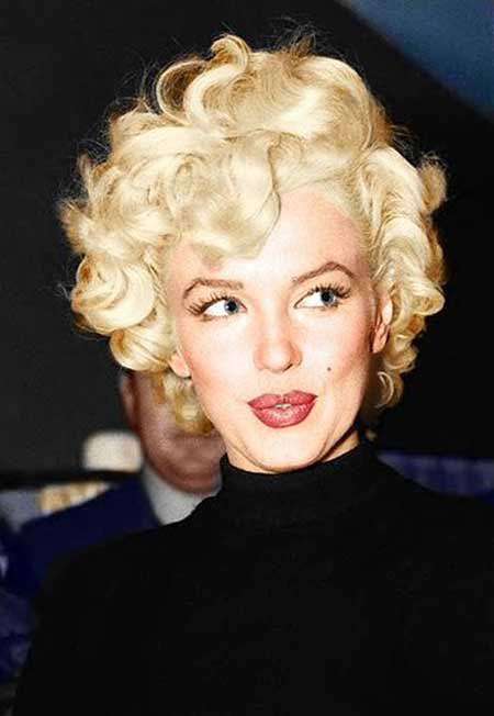 Short Hairstyles, Monroe, Marilyn, Women, Over, Norma, Mm, Messy, Kate, Jean