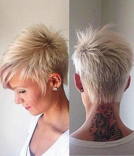 Short Hairstyles, Pixie Cut, Women, Tone, Korte, Kapsels
