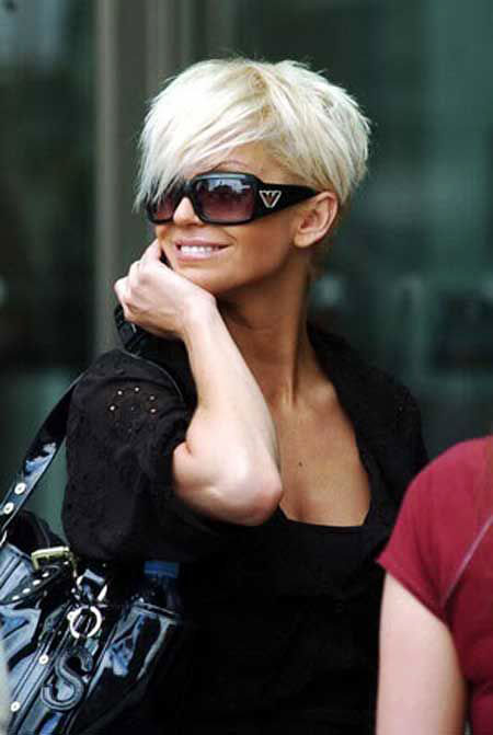 Short Hairstyles, Pixie Cut, Women, Wavy, Suga, Blonde Hairstyles