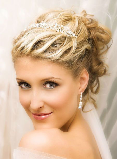 Wedding, Short Hairstyles, Updo, Peinados