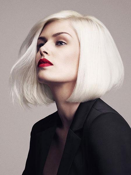 Blonde Bob Hairstyles, Blonde Hairstyles, Platinum, Short Hairstyles