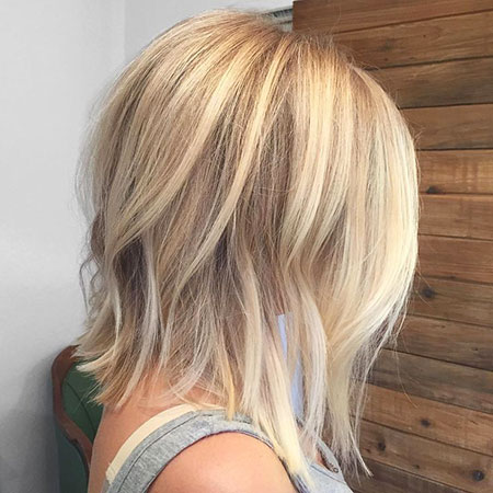 Blonde Hairstyles, Highlights, Balayage, Woman, Textured