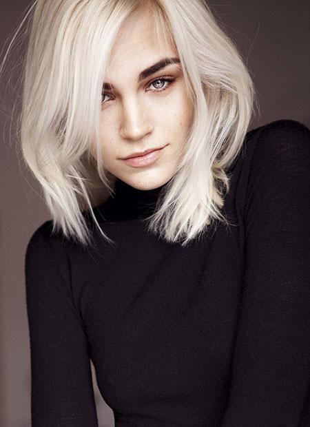 Blonde Hairstyles, Blonde Bob Hairstyles, Short Hairstyles, School, Ice