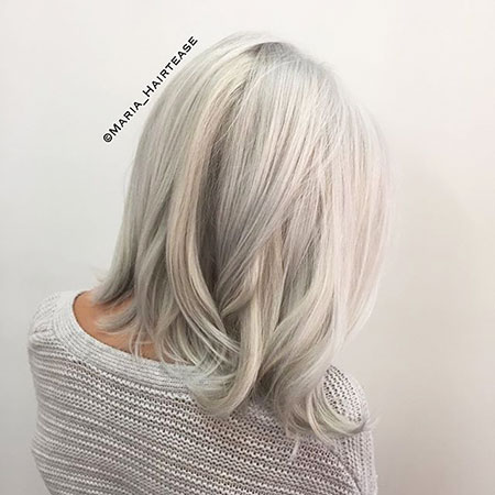 Blonde Hairstyles, Silver, Platinum, Ice, Grey, Gray, Fun, Colored