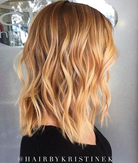 Blonde Hairstyles, Strawberry, Balayage