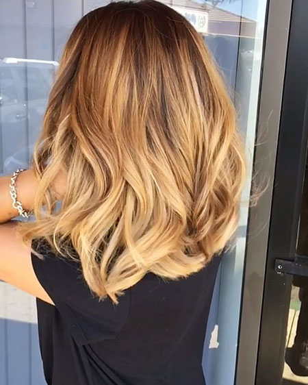 Blonde Hairstyles, Balayage, Ombre, Highlights, Warm