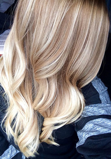 Blonde, Highlights, Balayage, Ombre, Light, Honey, Fall, Brown